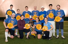 Bandidos - Monday Fall Indoor Intermediate Champions (click on picture for fullsize image)
